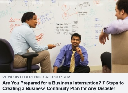 Are You Prepared For A Business Interruption